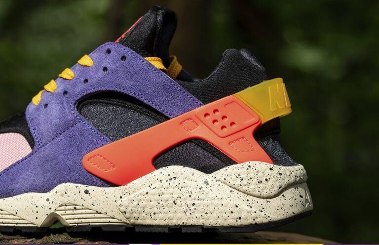 "size x Nike Air Huarache エアハラチ ""テラ ACG"" detail heel"