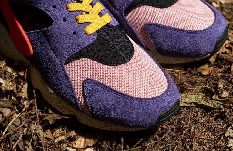 "size x Nike Air Huarache エアハラチ ""テラ ACG"" detail toe"