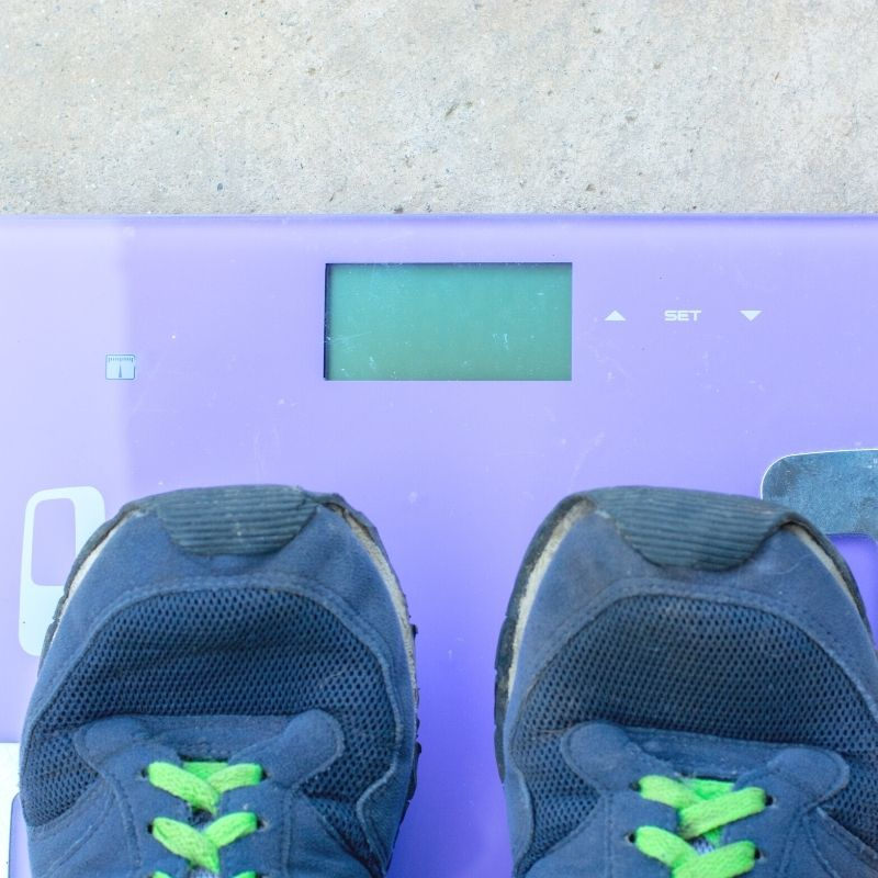 weight of shoes