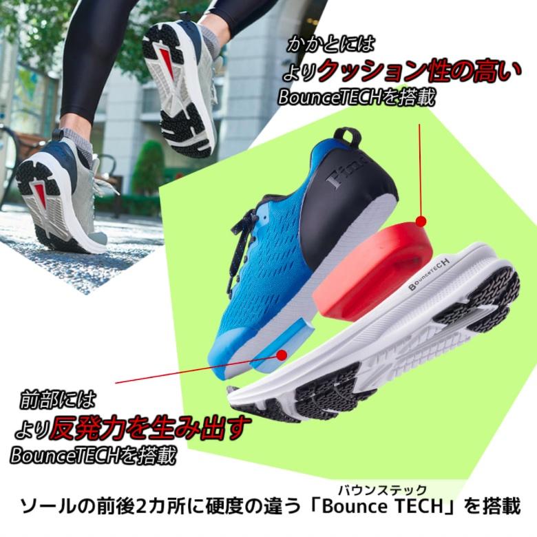 アスレシューズハイバウンスドリブンシューズ workman_running shoes_sg270_2