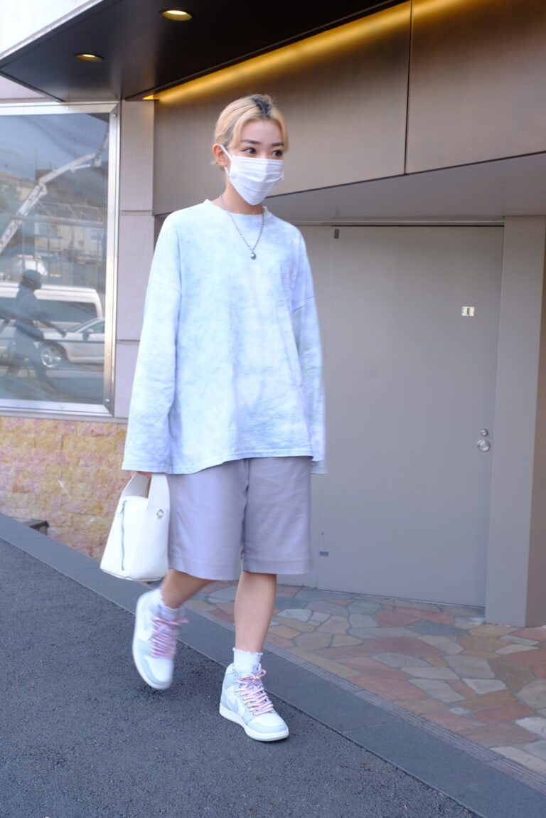 "【STYLE  SNAP 原宿】Air Jordan 1 ""Seafoam"" とのコーディネート"