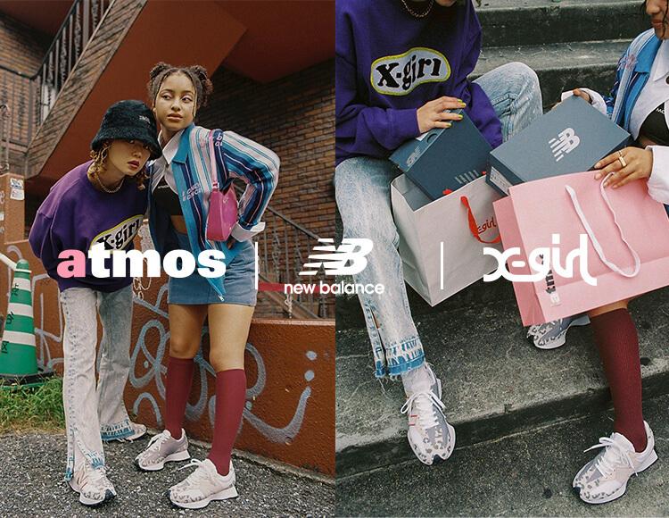 10月8日予約開始・10月22日発売【atmos pink × X-girl × New Balance 327】