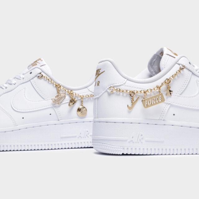 ナイキ エア フォース 1 ホワイト ラッキー チャーム nike-air-force-1-low-lucky-charms-white-gold-dd1525-100-detail