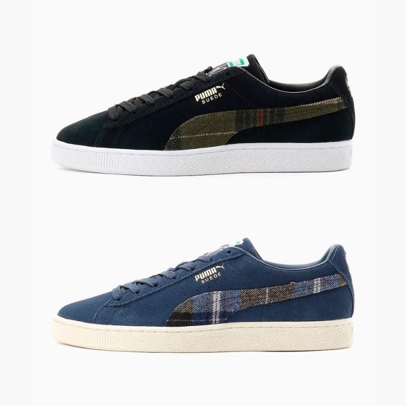10月2日発売【Puma Suede Classic Flannel 2 Colors】